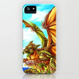Palm Tree Eater iPhone Case