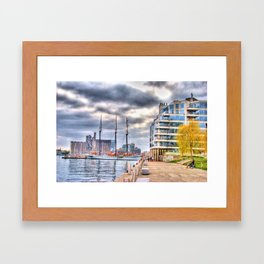 harbourfront toronto Framed Art Print