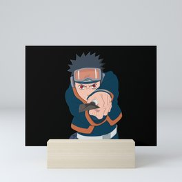 Little Obito Mini Art Print