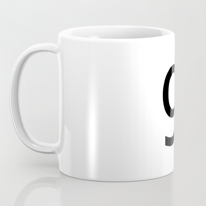 9 - Nine Coffee Mug