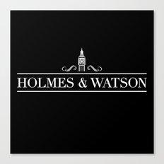 Holmes & Watson Canvas Print