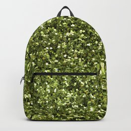 Green Glitter Backpack