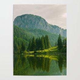 Red Lake, Romania Poster