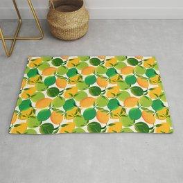 Lemons and Limes Rug