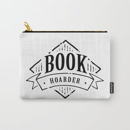 Book Hoarder Black Carry-All Pouch
