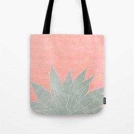 peachy agave Tote Bag