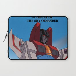 Starscream the Sky Commander Laptop Sleeve
