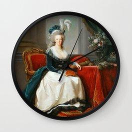 Marie Antoinette V3 Cold Wall Clock