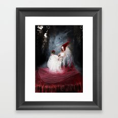 Bride of the earth Framed Art Print