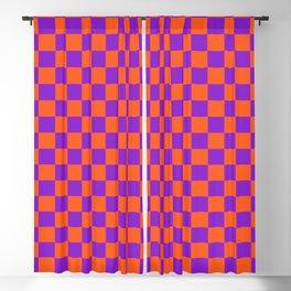Checkered Pattern VIII Blackout Curtain