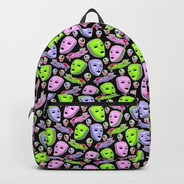Alien Attack I Backpack