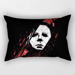 Hell-O-Ween Myers knife Rectangular Pillow