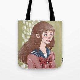 Japan schoolgirl Tote Bag