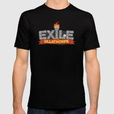 Exile From Ullathorpe - Our Logo MEDIUM Mens Fitted Tee Black
