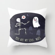 You Are My Soulmate Throw Pillow
