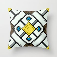 Shoelace Throw Pillow