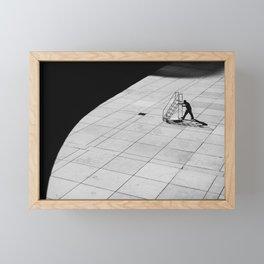 Stairway to nowhere Framed Mini Art Print