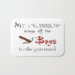 Buffy's Crossbow Bath Mat