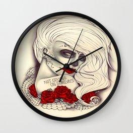 Not crying on sundays Wall Clock