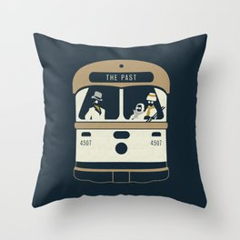 Urban Fae — TTC Streetcar Throw Pillow