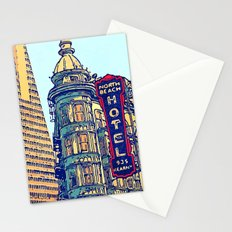 North Beach, San Francisco #068 by Mark Gould Stationery Cards