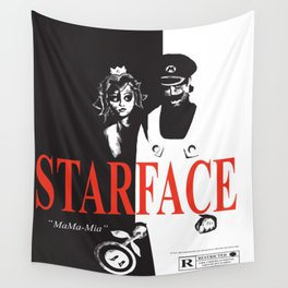STARFACE Wall Tapestry