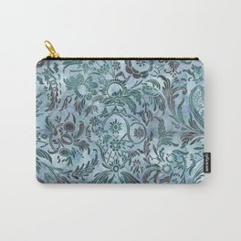 Watercolor Damask Pattern 08 Carry-All Pouch