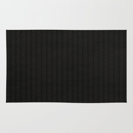 Antiallergenic Hand Knitted Black Wool Pattern - Mix&Match with Simplicty of life Rug