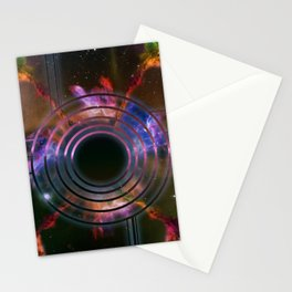 Wall of Space Stationery Cards