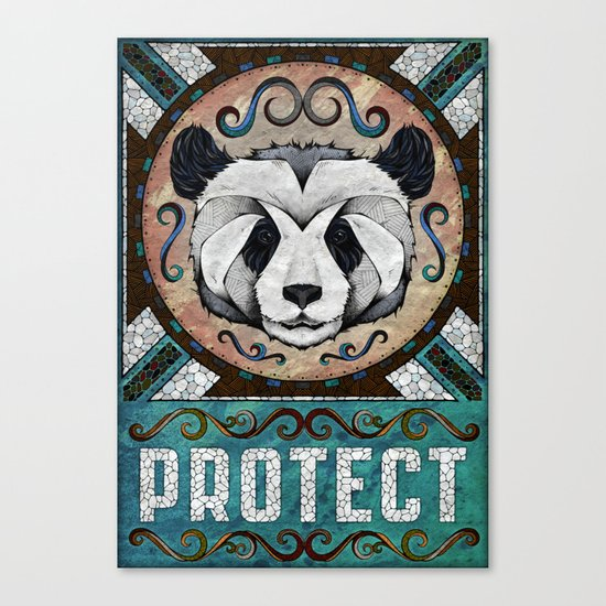 Protect Canvas Print