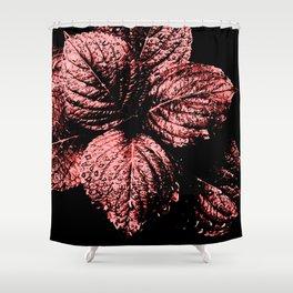 Glistening Garnet Shower Curtain