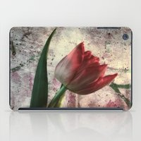 asia iPad Cases featuring asia tulip by lucyliu