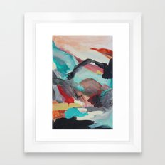 Palette No. One Framed Art Print