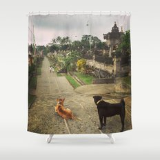 Waiting for Godot Shower Curtain