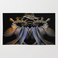 transformer Area & Throw Rugs featuring Transformer by Brian Raggatt