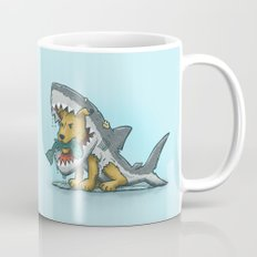 Shark Suit Dog Mug