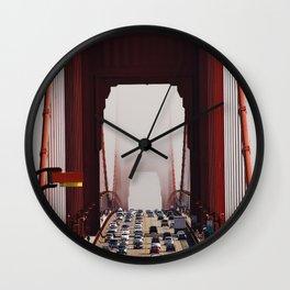 Disappearing Wall Clock