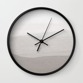 Subtle Layers Wall Clock