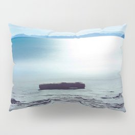 Ocean Waters Photography Print Pillow Sham