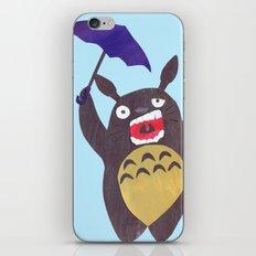 Totoro is tired Collage iPhone & iPod Skin