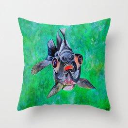 Blackmoor Goldfish Throw Pillow