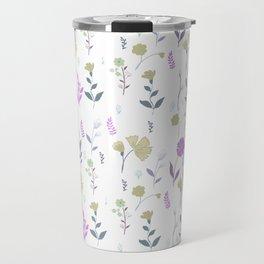 Tulum Floral 5 Travel Mug
