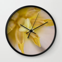 Inside a Tulip Wall Clock