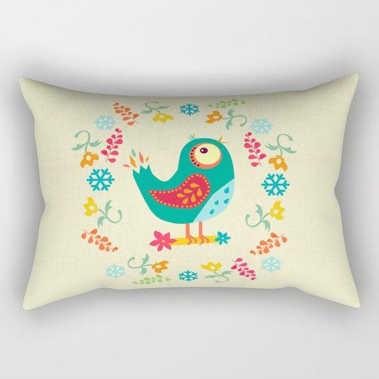Birdy Rectangular Pillow