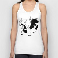 charizard Tank Tops featuring Charizard Mega Y by Ruo7in