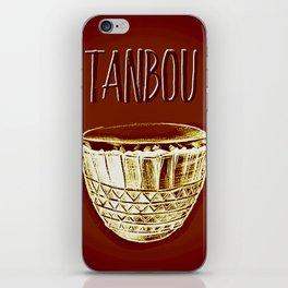 Tanbou iPhone Skin