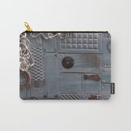 Silver Steampunk Carry-All Pouch