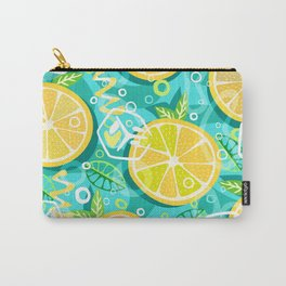 Lemon and Mint Carry-All Pouch
