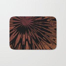 Native Tapestry in Burnt Umber Bath Mat