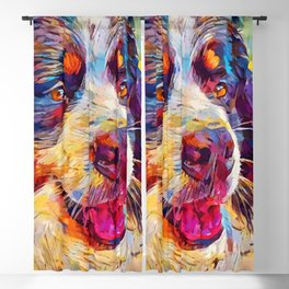 Bernese Mountain Dog 2 Blackout Curtain